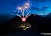 Великолепный музыкальный фейерверк на пике горы Чиампорино