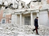 Сегодня вся Италия вспоминает погибших при землятресении в Л'А́куиле