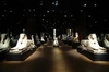 Концерт на подушках в Музее Египта в Турине