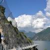 Первый участок самой красивой велосипедной дороги в мире с видом на озеро Гарда