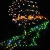 В Италии готова зажечь огни гигантская ель в Кастельбеллино