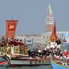 """В Венеции состоялся красочный ритуал """"Брака с морем"""""""