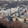 Рухнувший мост Моранди, открытый для движения в 1967 году, был постоянным объект