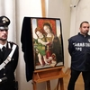 """В Италии вернулся холст """"Мадонна с младенцем"""" приписываемый Пинтуриккьо"""