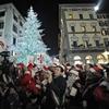Мэр Флоренции зажег огни главной рождественской ели города