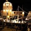 В Чезенатико установили рождественские ясли на воде