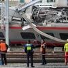 Пассажирский поезд Милан-Базель сошел с рельсов в Швейцарии