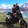 В Валь-ди-Суза водитель фургона сбил пару на мотоцикле в отместку за ссору на до