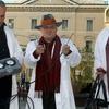 В Сондрио члены итальянской ассоциации охотников за привидениями ловят дух Гариб