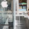 Туристка из Франции искупалась обнаженной в фонтане Apple store Милана