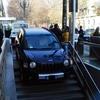В Турине женщина за рулем ошиблась вьездом в паркинг и угодила в метрополитен