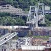 Год назад в Генуе произошел обвал моста Моранди: город вспоминает жертв трагедии