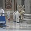 В Риме вновь открылась для верующих базилика Сан-Пьетро