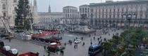 В Милане установили рождественскую ель