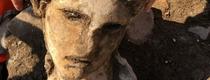 Во время раскопок под Римским Капитолием обнаружена голова статуи имперского пер