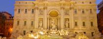 В Риме двое российских туристов взобрались на скульптурную композицию фонтана Тр