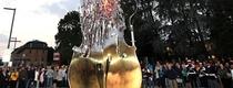 В Кремоне установили высокотехнологичный памятник скрипке