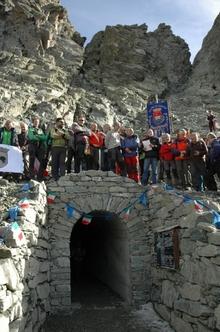 """Туннель """"Buco di Viso"""", который соединяет Францию и Италию, вновь открыт"""