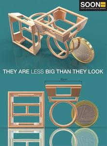 """""""Soon design jewels"""": экспозиция высокотехнологичных ювелирных изделий, созданных итальянским мастером"""