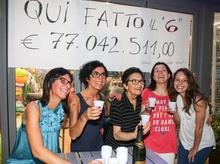 Итальянец, выигравший в лотерею 77 миллионов евро, пришел за выигрышем только сп