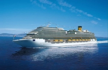 Круизная компания Costa Crociere представляет свой новый лайнер Diadema