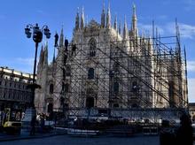 Во время новогоднего шоу на площадь Дуомо Милана допустят только 20000 человек