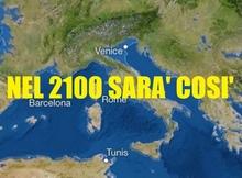 Уровень средиземного моря поднимается: подвержены риску прибрежные области Калабрии, Сардиния и долина реки По
