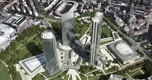 В Милане открылся CityLife Shopping District, гигантский молл среди небоскребов