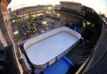 В Милане открылся каток под крышей Галереи Витторио Эмануэле II