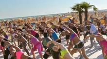 Бибионе, фитнес в нескольких шагах от моря