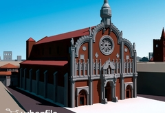 Итальянские 3D-дизайнеры показали, каким был Милан без Дуомо