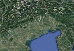 Во Фриули произошел подземный толчок магнитудой 3,8