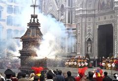 """На Пасху во Флоренции повторится традиционный ритуал """"Взрыв повозки"""""""