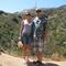 На известной горе в Лос Анджелесе.