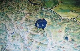 Озеро Боьсена расположено недалеко от Рима