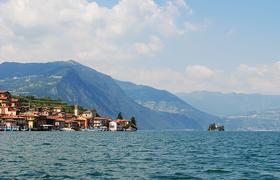 Изео - небольшое, но очень красивое альпийское озеро