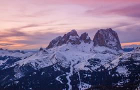Горнолыжные курорты Италии: Валь Гардена