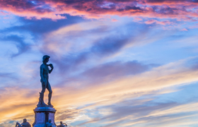 Секреты площади Пьяццале Микеланджело