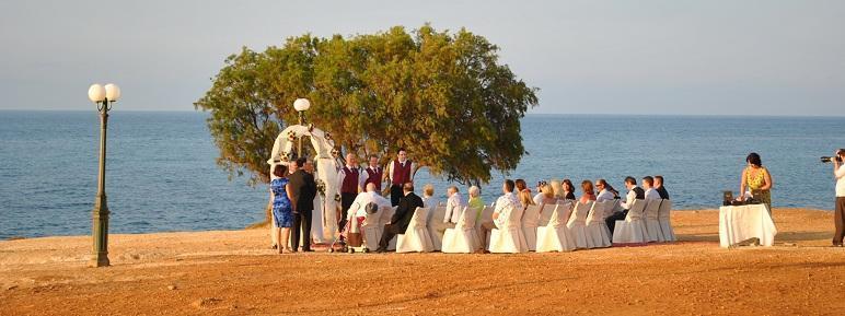 Английская свадьба на Крите )))
