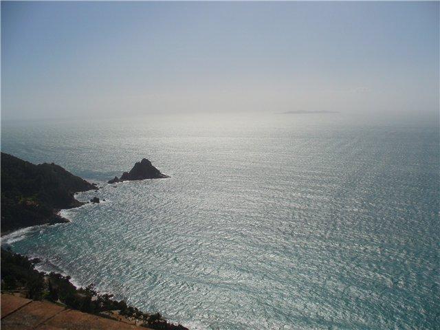 Вид на море с Монте Арджентарио.