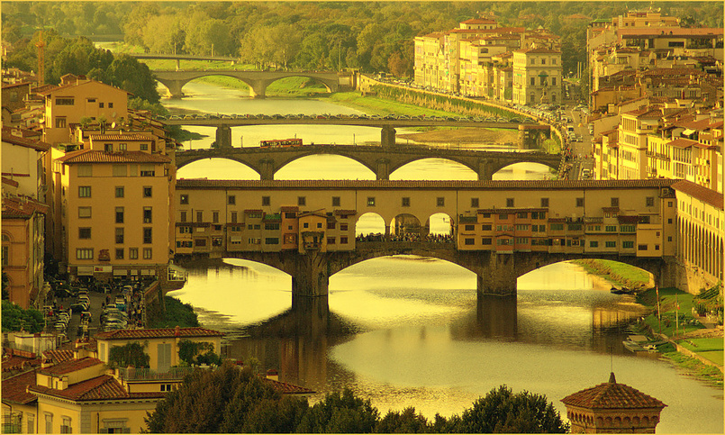 Golden Florence by iramashura