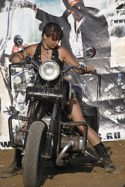 Я и мой мотоцикл