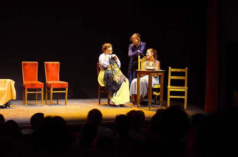 """Спектакль Гоголя"""" Женитьба"""" в Риме.  Matrimonio . Teatro Belli a Roma"""