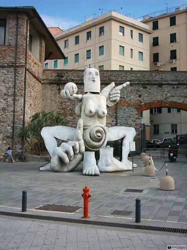 Генуя (площадь при Аквариуме Porto Antico)