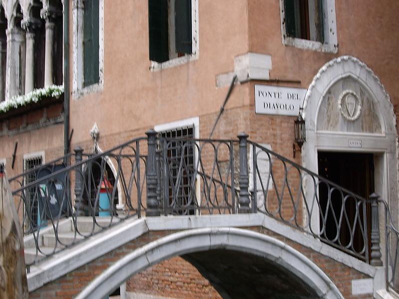 Venezia. Ponte del Diavolo