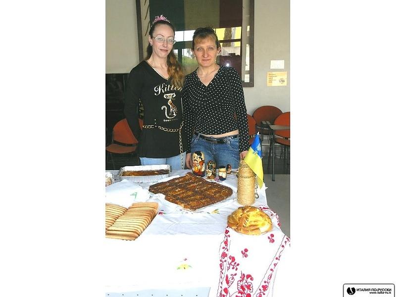 Дни украинской и русской культуры  в небольшом городке Gambettоla