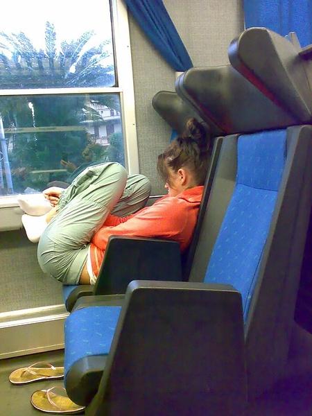 Чего не увидишь в поезде.
