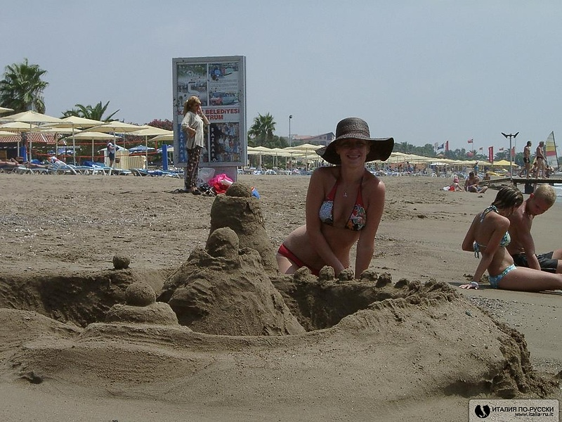 замки...из песка :)