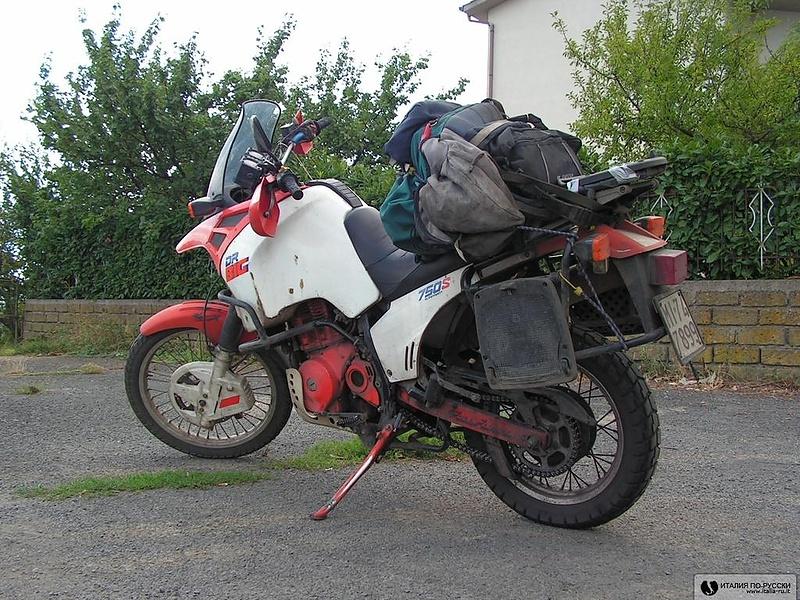 старина-мотоцикл.