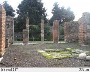 Раскопки Помпеи.